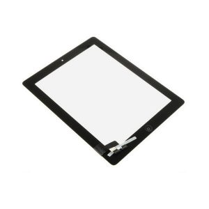 iPad 2 Full Digitizer Touch Screen Οθόνη αφής Μαύρο (με Home Button/IC/3M Tapes)