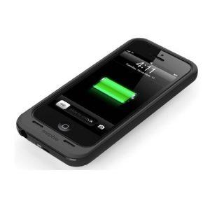 iPhone 5/ 5s Θήκη προστασίας με Power Bank μαύρο