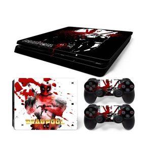 PS4 Αυτοκόλλητα Sticker skin DeadPool για Playstation 4 Slim