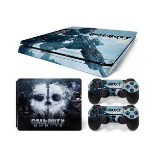 PS4 Αυτοκόλλητα Sticker skin Call Of Duti Ghosts για Playstation 4 Slim