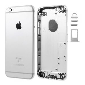 iPhone 6 Πίσω Καπάκι / Back Cover ασημένιο με Πλήκτρα και SIM Tray