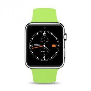 Smartwatch Ρολόι Κινητό Τηλέφωνο με Οθόνη Αφής SIM Camera ελληνικό μενού Πράσινο