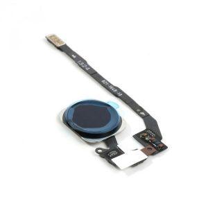 Home Button Flex με Fingerprint Sensor για iPhone 5S/SE - Μαύρο