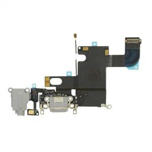 Καλωδιοταινία Flex φόρτισης και ακουστικών για iPhone 6 Space Gray Charging port dock Audio flex Connector