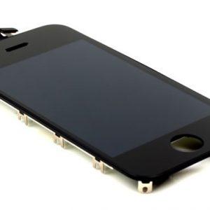 Οθόνη LCD με Digitizer Tianma glass για iPhone 4s Μαύρο
