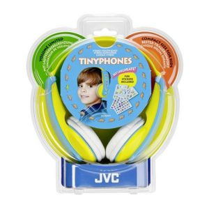 Παιδικά ακουστικά JVC HA-KD 5 Y-E Κίτρινο