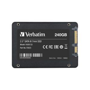 """Σκληρός δίσκος Verbatim Vi500 2,5"""" SSD 240GB SATA III"""