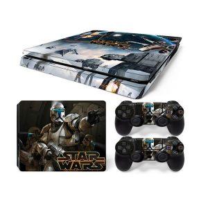 PS4 Αυτοκόλλητα Sticker skin Star Wars για Playstation 4 Slim