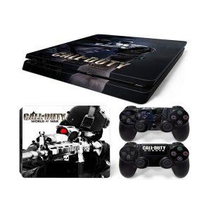 PS4 Αυτοκόλλητα Sticker skin Call Of Duti World At War για Playstation 4 Slim