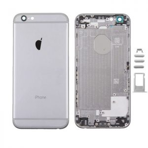 iPhone 6 Πίσω Καπάκι / Back Cover Space Grey με Πλήκτρα και SIM Tray