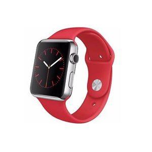 Smartwatch Ρολόι Κινητό Τηλέφωνο με Οθόνη Αφής SIM Camera ελληνικό μενού κόκκινο