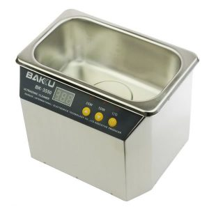 Ultrasonic Cleaner Καθαριστής Υπερήχων 35W/50W Bakku BK-3550 Digital