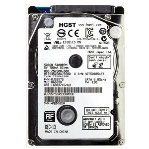Σκληρός Δίσκος 2.5'' Hitachi TravelStar z5k500 500GB Sata 3 Hard Disk
