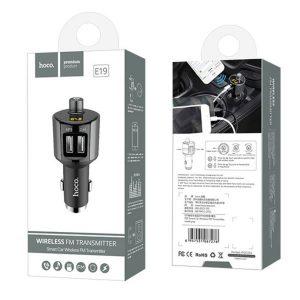 Bluetooth FM launcher transmitter mp3 player + 2.4A Car Charger E19