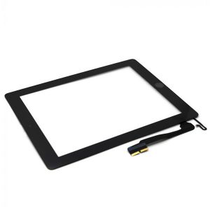iPad 4 Full Digitizer Touch Screen Οθόνη αφής Μαύρο (με Home Button/IC/3M Tapes)