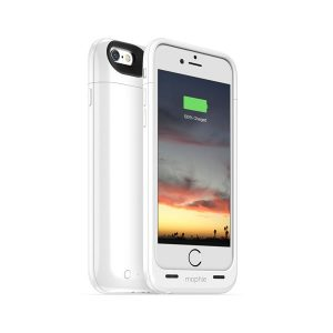 Θήκη με Power Bank για iPhone 6 Plus Mophie juice pack plus (λευκό) Charger Case