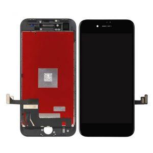iPhone 8 Plus Οθόνη LCD και Digitizer με Μηχανισμό Αφής Touch Screen Μαύρη (Tianma)