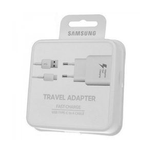 Φορτιστής Samsung Galaxy S8 Travel Adapter Fast Charger με καλώδιο Type C EP-TA20EWE