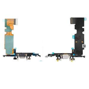 Καλωδιοταινία φόρτισης dock charger flex για iPhone 8 λεύκο