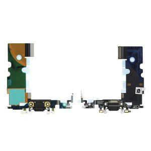 Καλωδιοταινία φόρτισης dock charger flex για iPhone 8 μαύρο