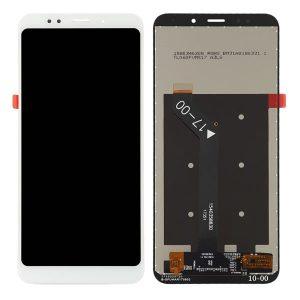 Οθόνη για Xiaomi Redmi 5 Plus λευκή