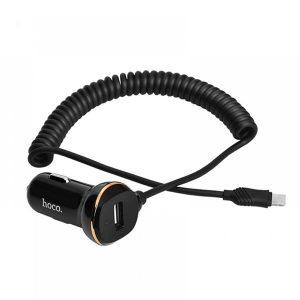 Hoco Φορτιστής Αυτοκινήτου 3.4A Z14 Fast Charging με Micro-USB καλώδιο