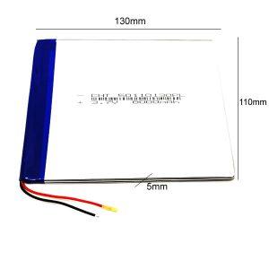 Universal μπαταρία tablet 3.7V 8000mAh 50110130