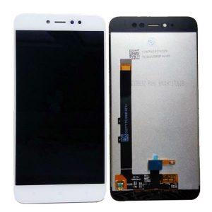 Οθόνη LCD για Xiaomi Redmi Note 5A Prime λευκή
