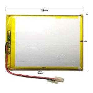 Universal μπαταρία tablet 3.7V 4000mAh 506790 (5.0*67*90mm)