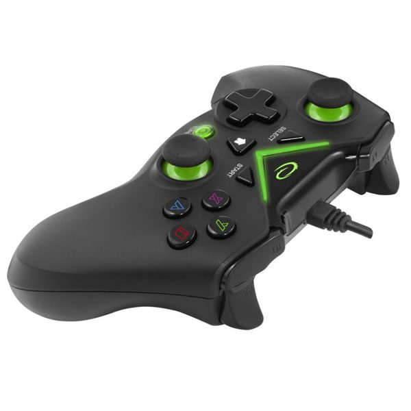Esperanza GamePad PC/ PS3/ Xbox One/ Android USB Captain EGG111K