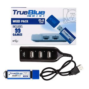 True Blue mini Weed pack V4 64GB PSX Classic