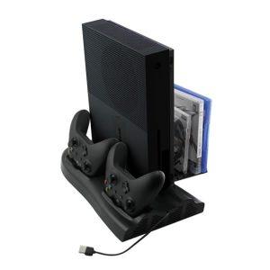 Βάση ψύξης και φόρτισης χειριστηρίων για Xbox One X Multi-function Stand