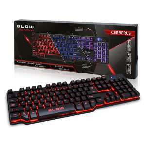Cerberus Gaming πληκτρολόγιο με LED φωτισμό1