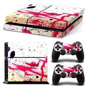 PS4 Αυτοκόλλητα Sticker skin Splash για Playstation 4 Fat