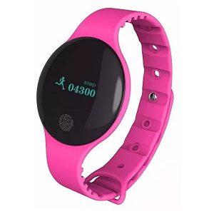 TLW08 Smartwatch Βραχιόλι Bluetooth Ρόζ