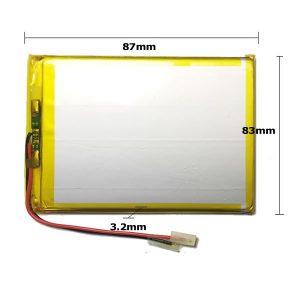 Universal μπαταρία tablet 3.7v 3000mAh 328783