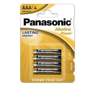 Αλκαλικές μπαταρίες Panasonic Alkaline Power AAA (4τμχ)