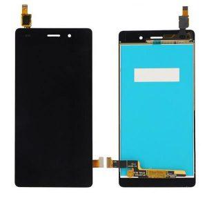 Huawei P8 Lite LCD Οθόνη με Touch Screen Μαύρο