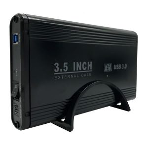 Powertech Θήκη σκληρού δίσκου Sata 3.5″ USB 3.0 External Case up to 4TB