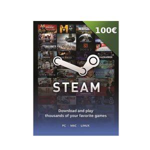 Steam Card 100€ – Prepaid Card