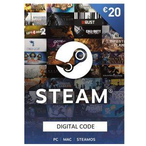 Steam Card 20€ – Prepaid Card