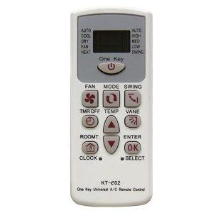 Universal τηλεχειριστήριο κλιματιστικών KT-e02 4000 in 1