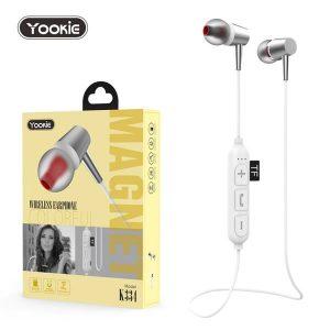 Ασύρματα Bluetooth ακουστικά Yookie K334 Λευκό
