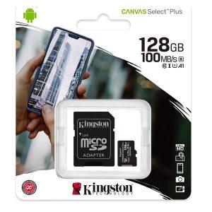 Κάρτα μνήμης Kingston micro SDXC 128GB Class 10 U1 V10 A1