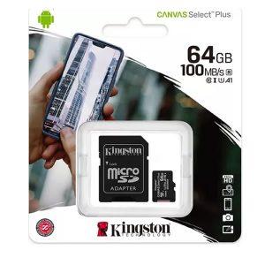 Κάρτα μνήμης Kingston micro SDXC 64GB Class 10
