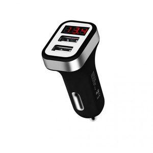 Φορτιστής αυτοκινήτου Hoco Z3 Double USB Quick charge 3.1A Μαύρο