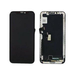 iPhone X και Digitizer με Μηχανισμό Αφής Touch Screen Μαύρη (Tianma)