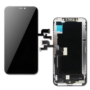 iPhone Xs και Digitizer με Μηχανισμό Αφής Touch Screen Μαύρη (Tianma)