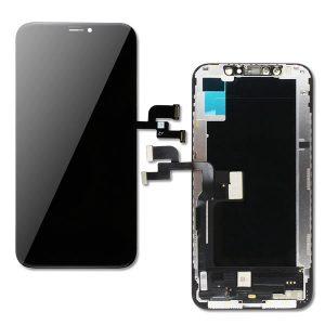 iPhone Xs και Digitizer με Μηχανισμό Αφής Touch Screen Μαύρη (Tianma)