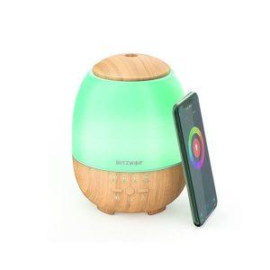 BlitzWolf BW-FUN3 Wi-Fi Smart Aroma Diffuser με Ultrasonic Atomization 400ml